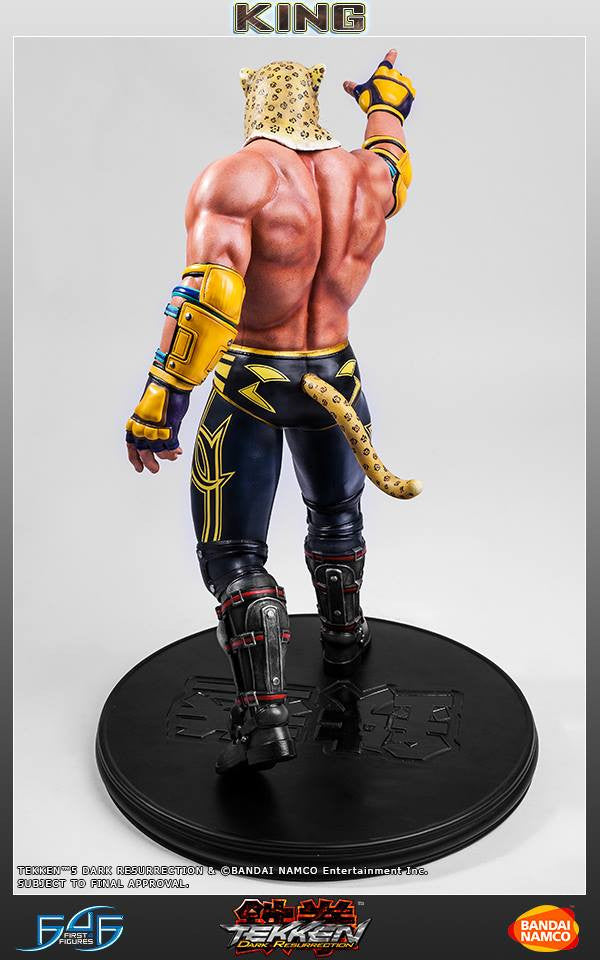 First 4 Figures - Tekken 5: Dark Resurrection - King - Marvelous Toys - 12