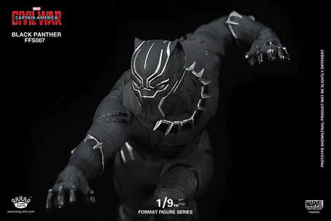 King Arts - FFS007 - Captain America: Civil War - Black Panther (1/9th Scale) - Marvelous Toys - 2