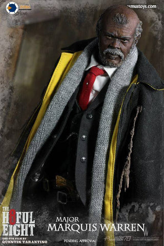 Asmus Toys - H802 - The Hateful 8 Series - Major Marquis Warren - Marvelous Toys - 2