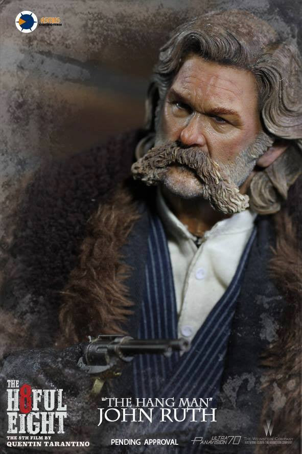 "Asmus Toys - H801 - The Hateful 8 Series - ""The Hangman"" John Ruth - Marvelous Toys - 3"