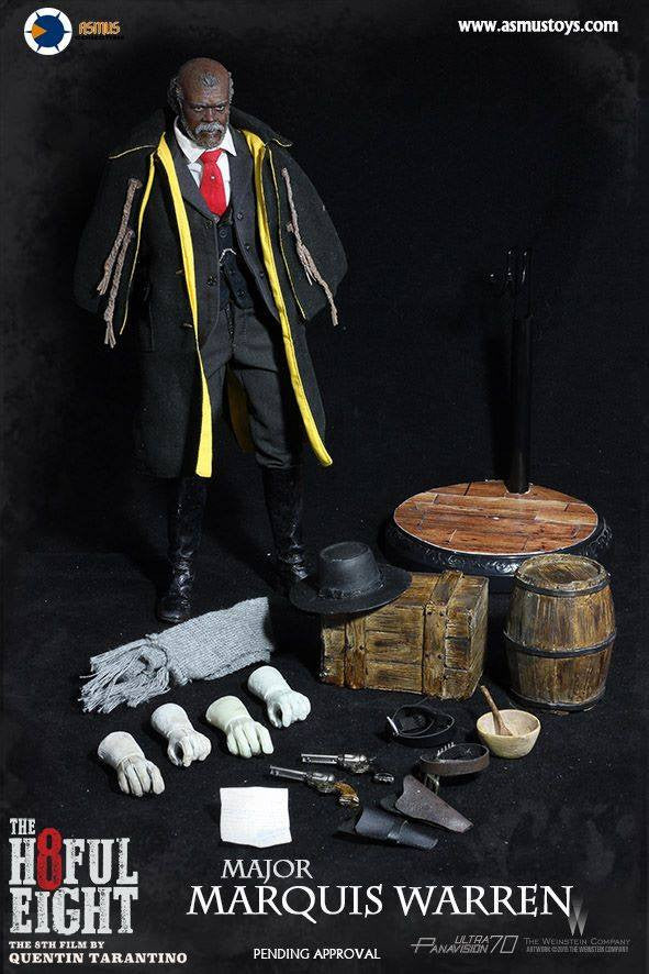 Asmus Toys - H802 - The Hateful 8 Series - Major Marquis Warren - Marvelous Toys - 11