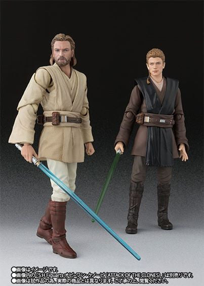 S.H.Figuarts - Star Wars: Attack of the Clones - Anakin Skywalker (TamashiiWeb Exclusive) (Early Purchase Edition) - Marvelous Toys - 9