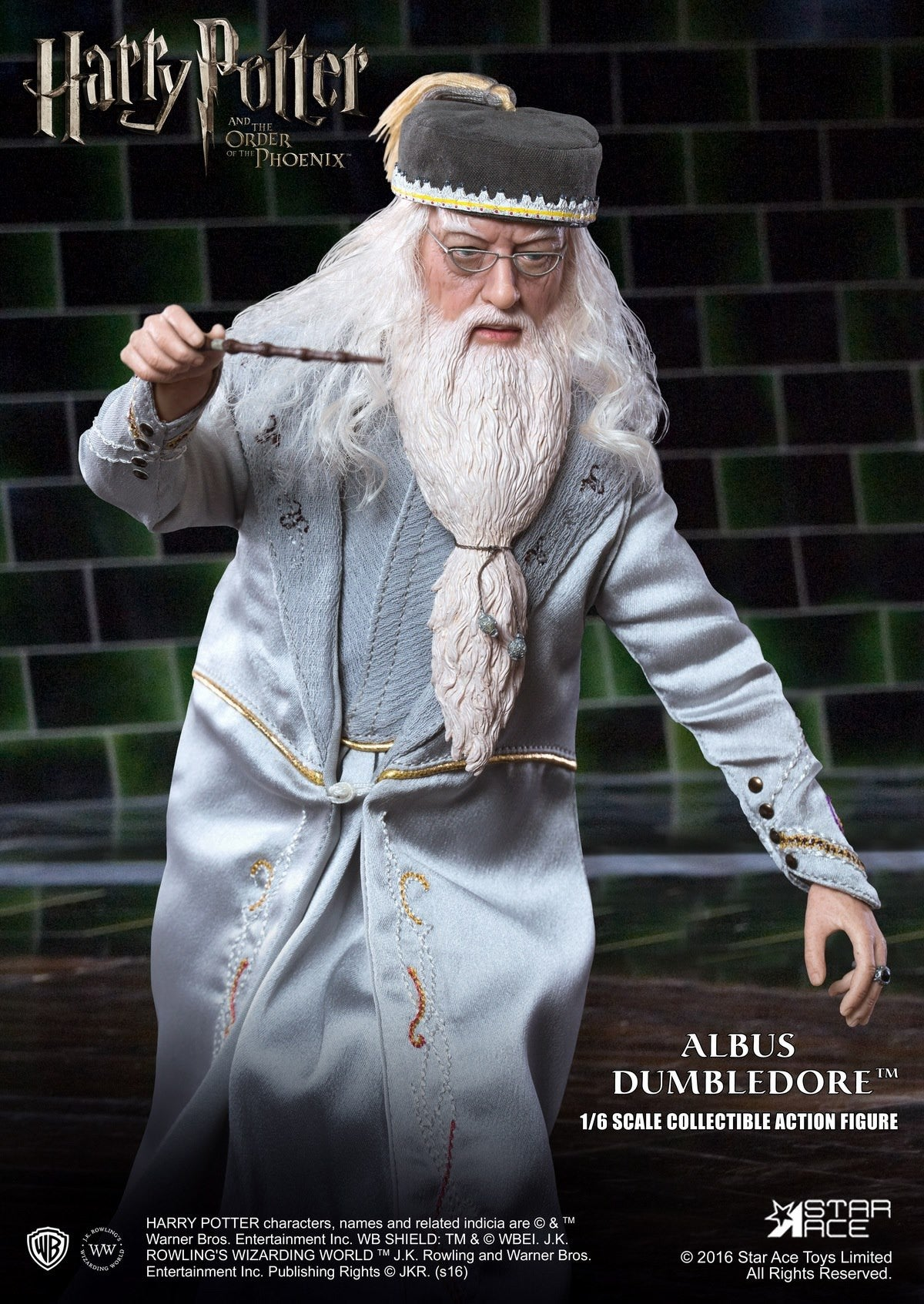 Star Ace Toys - SA0023 - Harry Potter and the Order of the Phoenix - Albus Dumbledore II - Marvelous Toys - 3