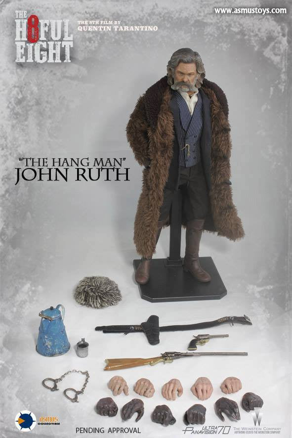 "Asmus Toys - H801 - The Hateful 8 Series - ""The Hangman"" John Ruth - Marvelous Toys - 12"