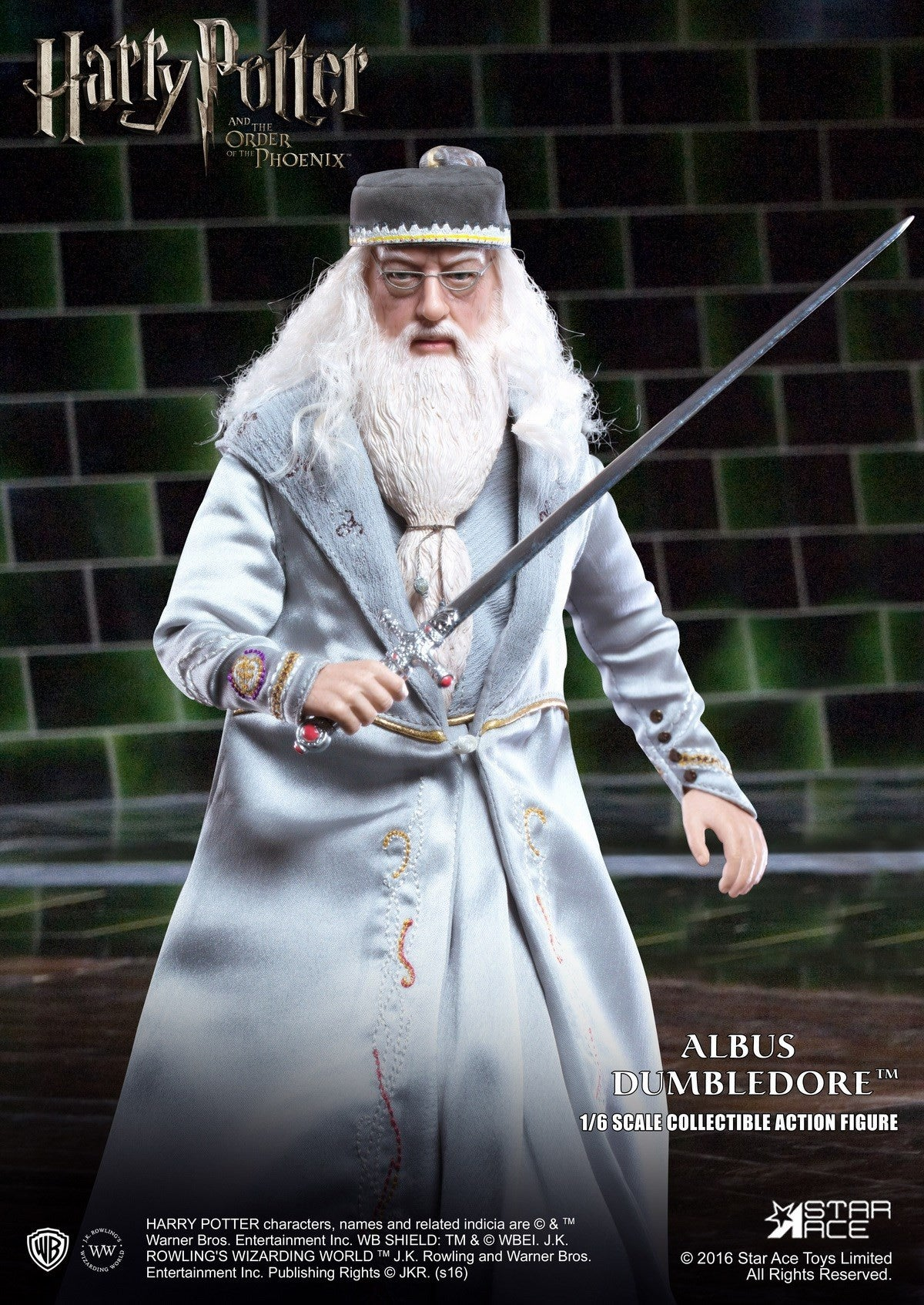 Star Ace Toys - SA0023 - Harry Potter and the Order of the Phoenix - Albus Dumbledore II - Marvelous Toys - 4