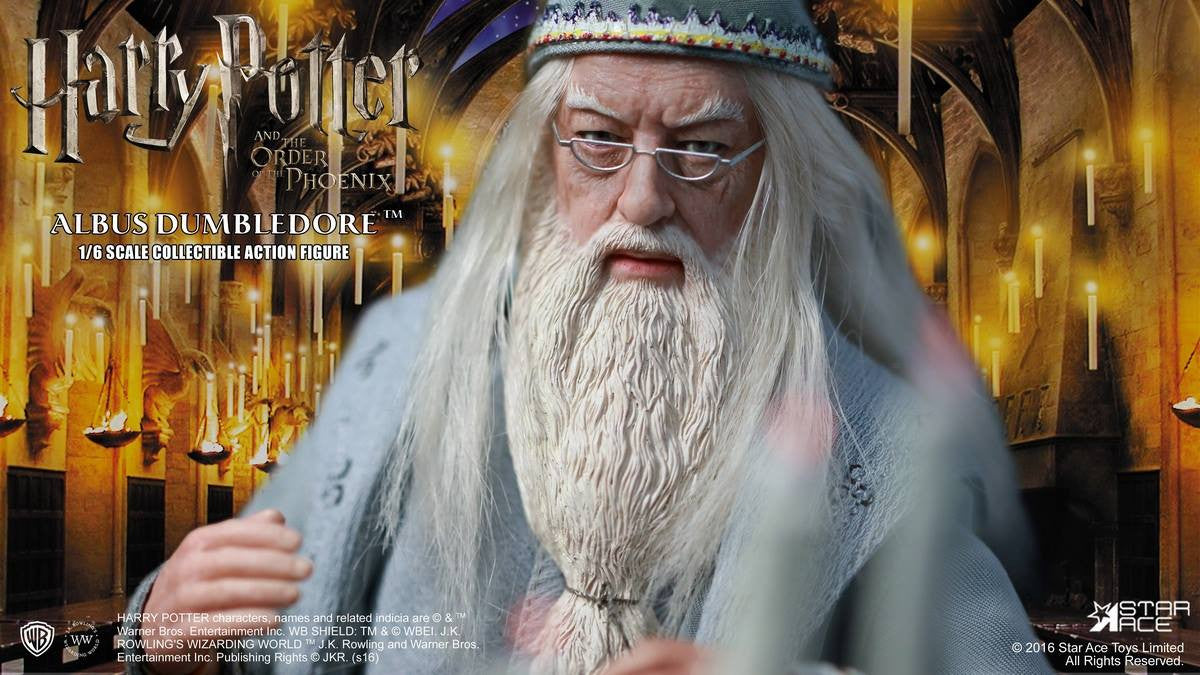 Star Ace Toys - SA0023 - Harry Potter and the Order of the Phoenix - Albus Dumbledore II - Marvelous Toys - 6