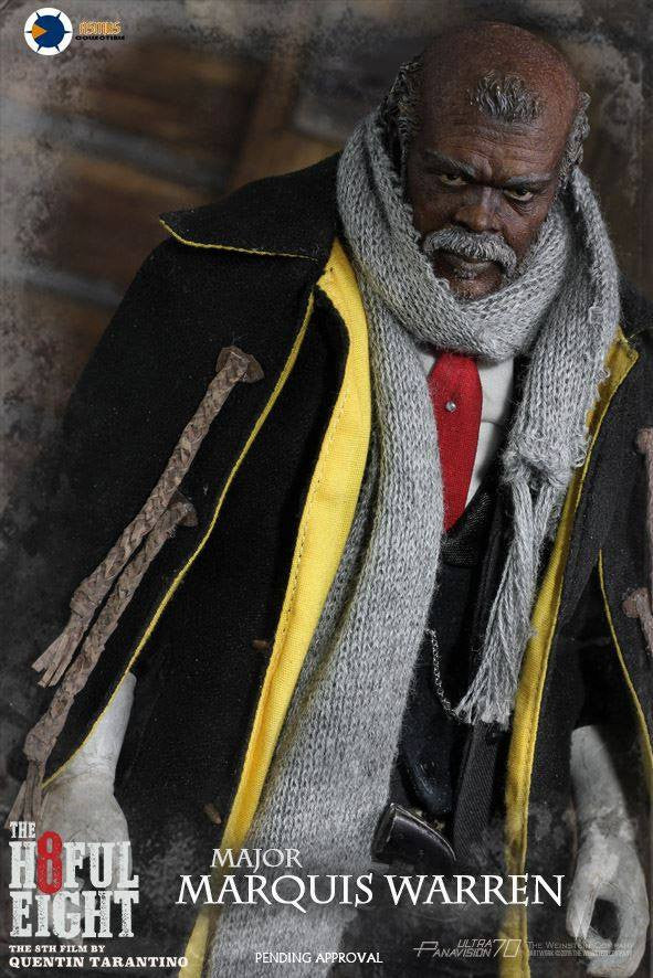 Asmus Toys - H802 - The Hateful 8 Series - Major Marquis Warren - Marvelous Toys - 4