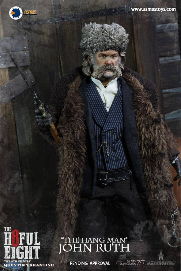 "Asmus Toys - H801 - The Hateful 8 Series - ""The Hangman"" John Ruth - Marvelous Toys - 4"