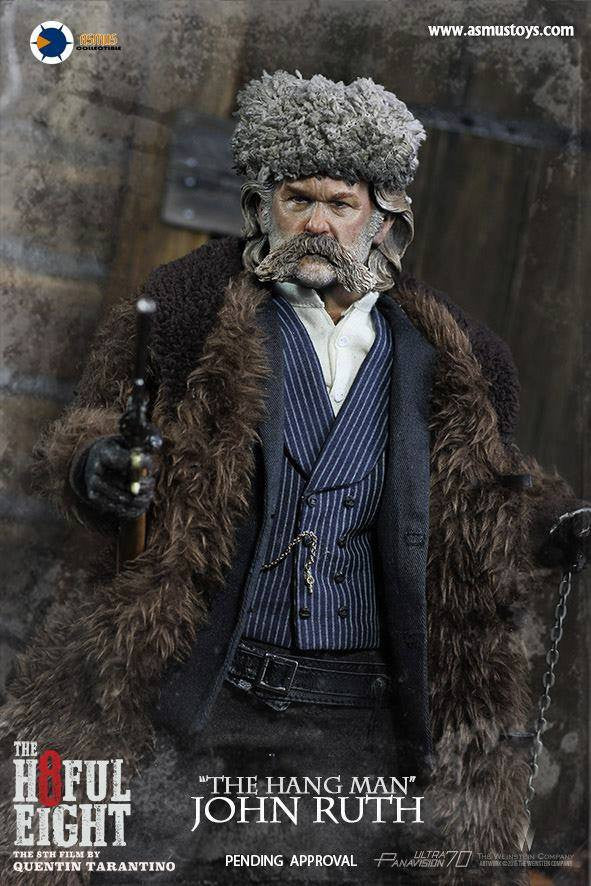 "Asmus Toys - H801 - The Hateful 8 Series - ""The Hangman"" John Ruth - Marvelous Toys - 5"