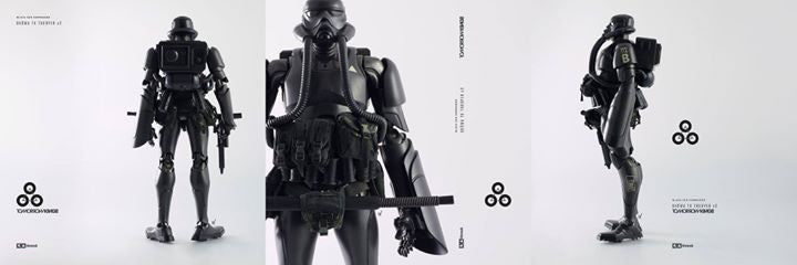 ThreeA - Tomorrow Kings - Show TK Trooper v2 - Black Sun Commando - Marvelous Toys - 6