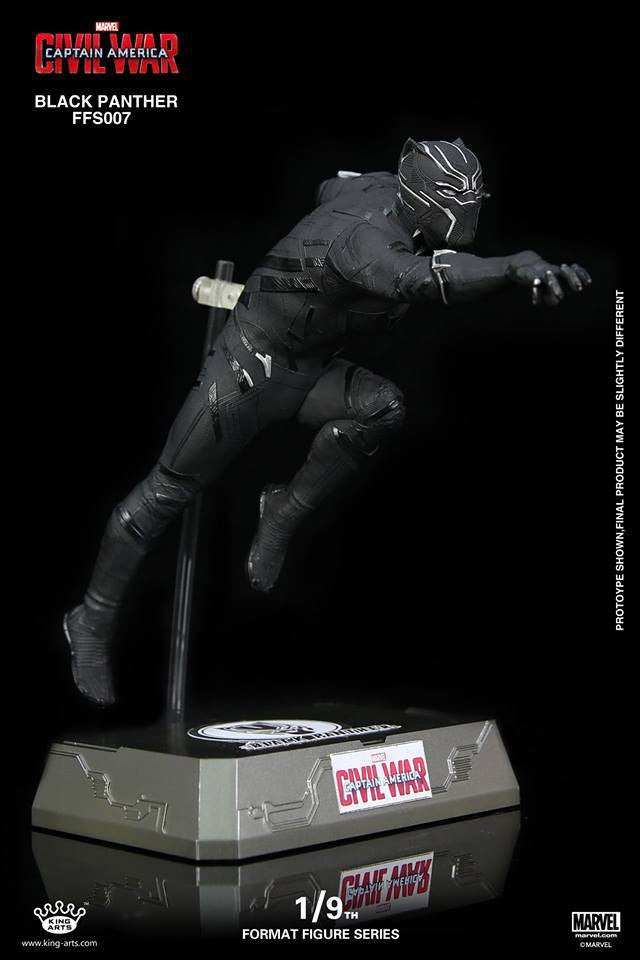 King Arts - FFS007 - Captain America: Civil War - Black Panther (1/9th Scale) - Marvelous Toys - 5