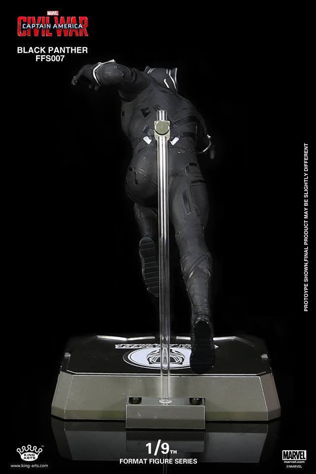 King Arts - FFS007 - Captain America: Civil War - Black Panther (1/9th Scale) - Marvelous Toys - 6