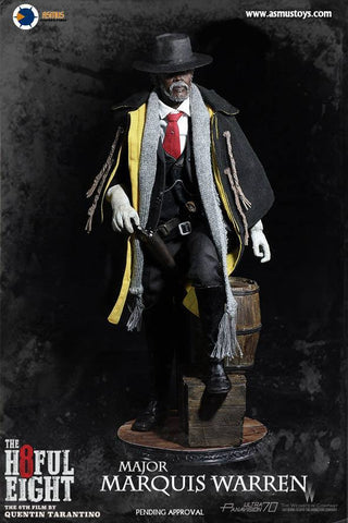 Asmus Toys - H802 - The Hateful 8 Series - Major Marquis Warren - Marvelous Toys - 1