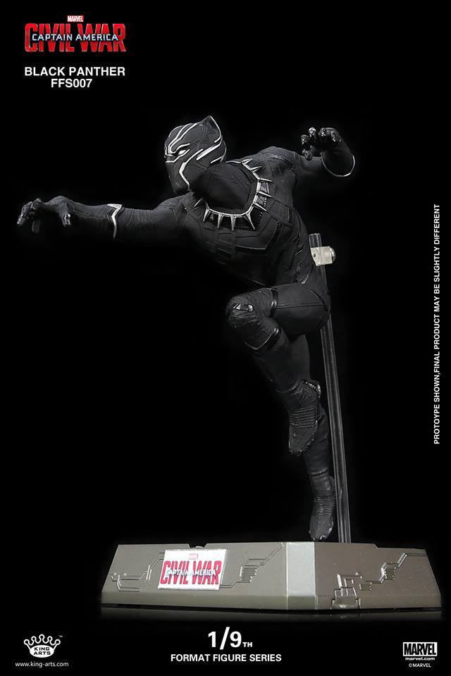 King Arts - FFS007 - Captain America: Civil War - Black Panther (1/9th Scale) - Marvelous Toys - 7