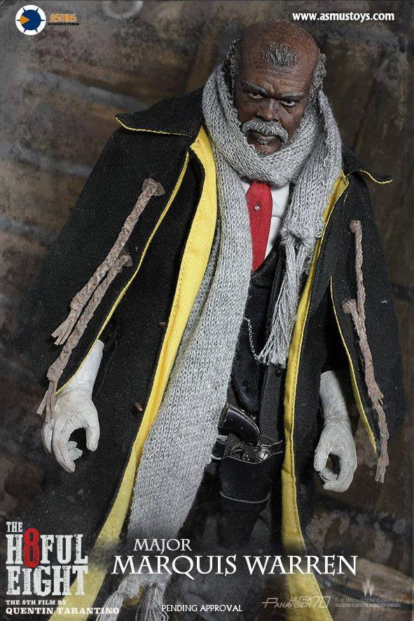 Asmus Toys - H802 - The Hateful 8 Series - Major Marquis Warren - Marvelous Toys - 6