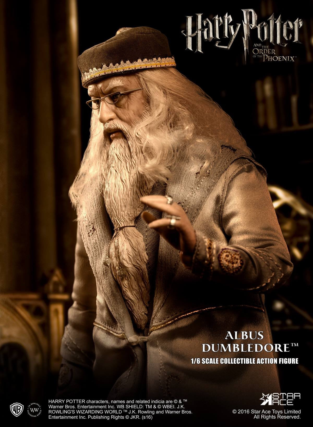 Star Ace Toys - SA0023 - Harry Potter and the Order of the Phoenix - Albus Dumbledore II - Marvelous Toys - 8