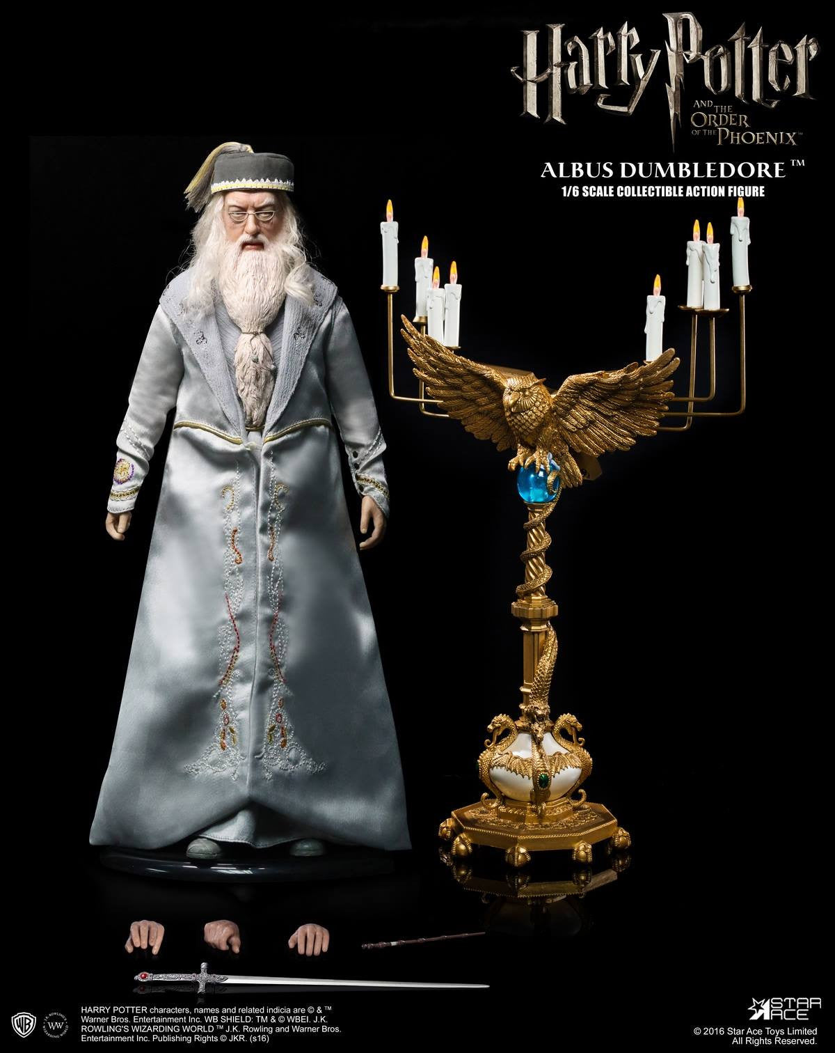 Star Ace Toys - SA0023 - Harry Potter and the Order of the Phoenix - Albus Dumbledore II - Marvelous Toys - 13