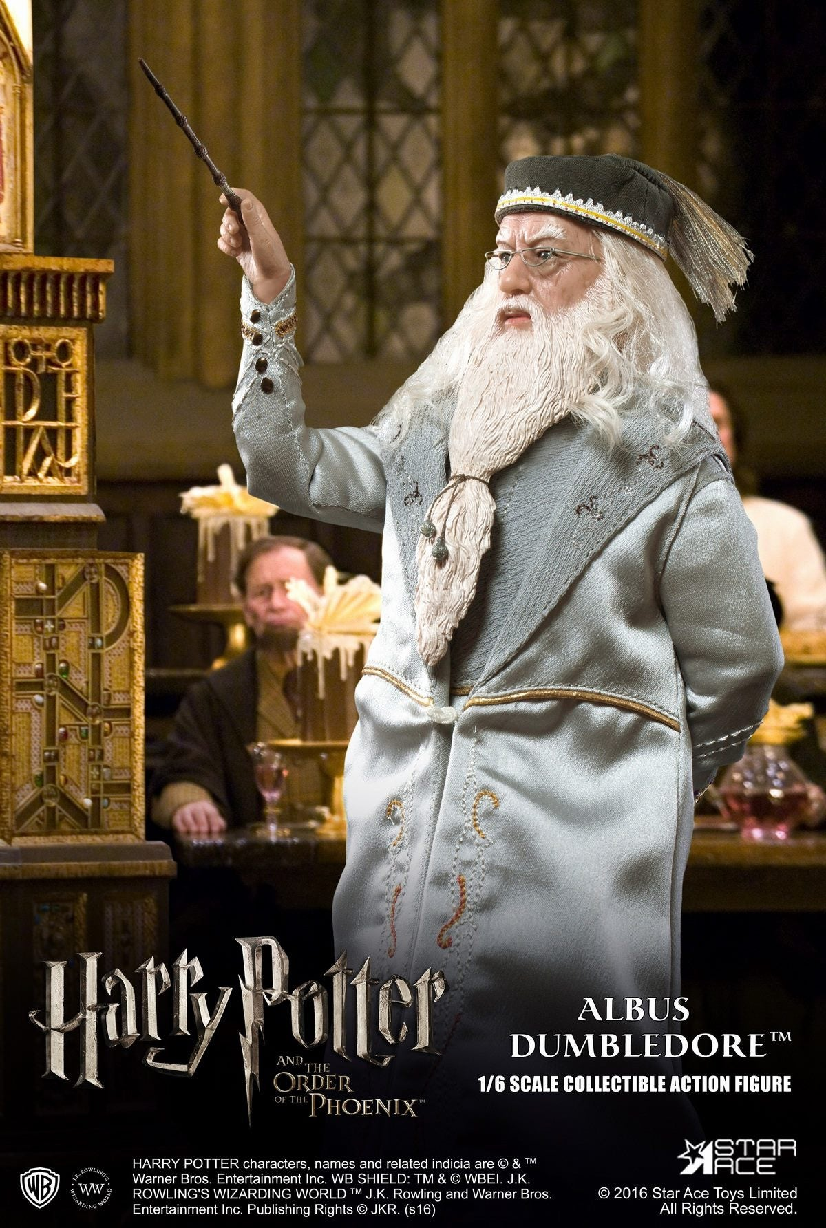 Star Ace Toys - SA0023 - Harry Potter and the Order of the Phoenix - Albus Dumbledore II - Marvelous Toys - 9