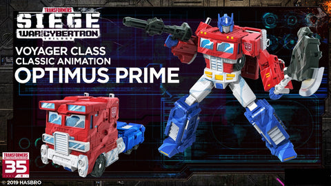 Hasbro - Transfomers Generations - War For Cybertron: Siege - Voyager - Optimus Prime (Classic Animation)