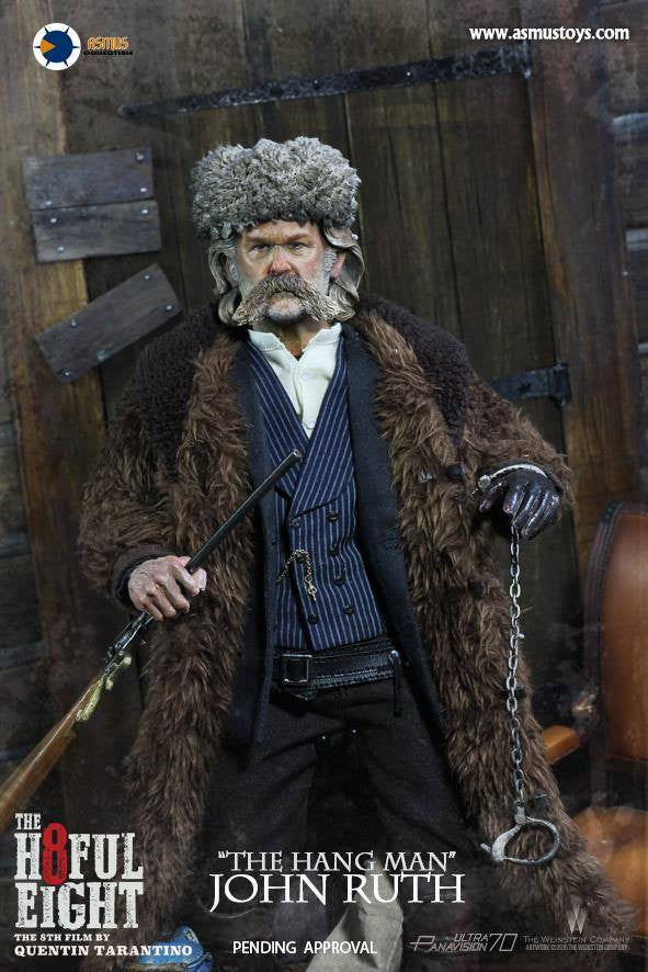 "Asmus Toys - H801 - The Hateful 8 Series - ""The Hangman"" John Ruth - Marvelous Toys - 6"