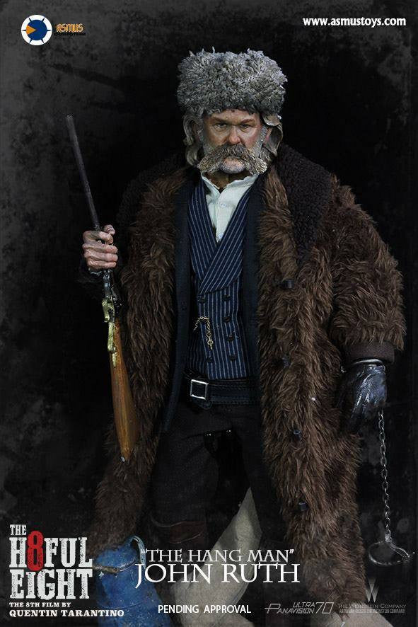 "Asmus Toys - H801 - The Hateful 8 Series - ""The Hangman"" John Ruth - Marvelous Toys - 7"