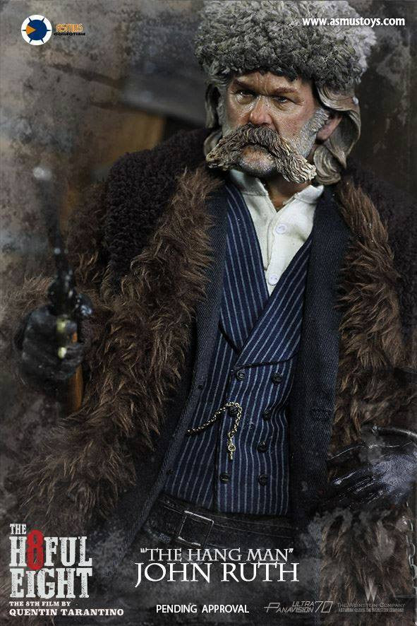 "Asmus Toys - H801 - The Hateful 8 Series - ""The Hangman"" John Ruth - Marvelous Toys - 8"