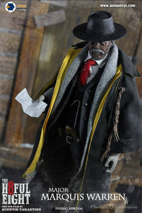 Asmus Toys - H802 - The Hateful 8 Series - Major Marquis Warren - Marvelous Toys - 3