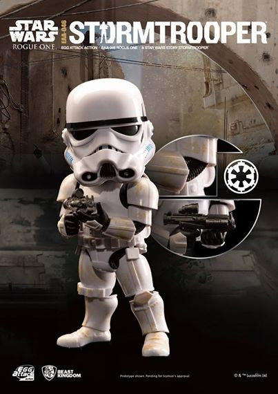 Egg Attack Action - EAA-046 - Rogue One: A Star Wars Story - Stormtrooper - Marvelous Toys - 1