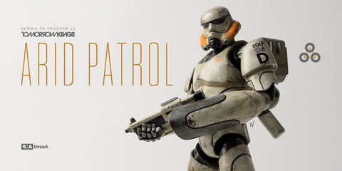 ThreeA - Tomorrow Kings - Show TK Trooper v2 - Arid Patrol - Marvelous Toys - 1