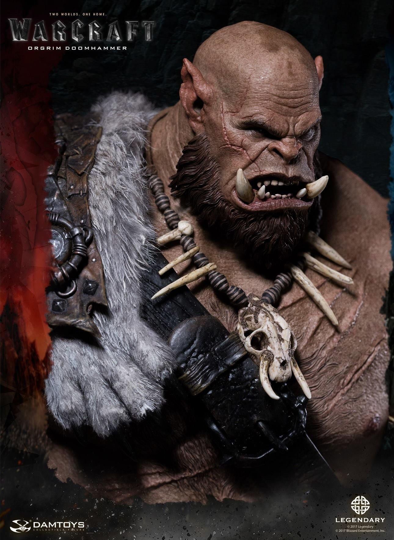 Dam Toys - DMLW02 - Epic Series - Warcraft - Orgrim Doomhammer Premium Statue - Marvelous Toys - 4