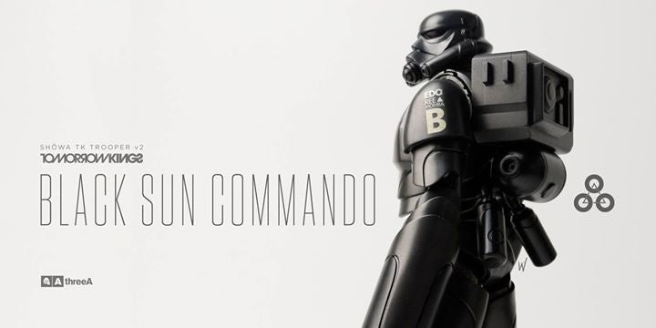 ThreeA - Tomorrow Kings - Show TK Trooper v2 - Black Sun Commando - Marvelous Toys - 1
