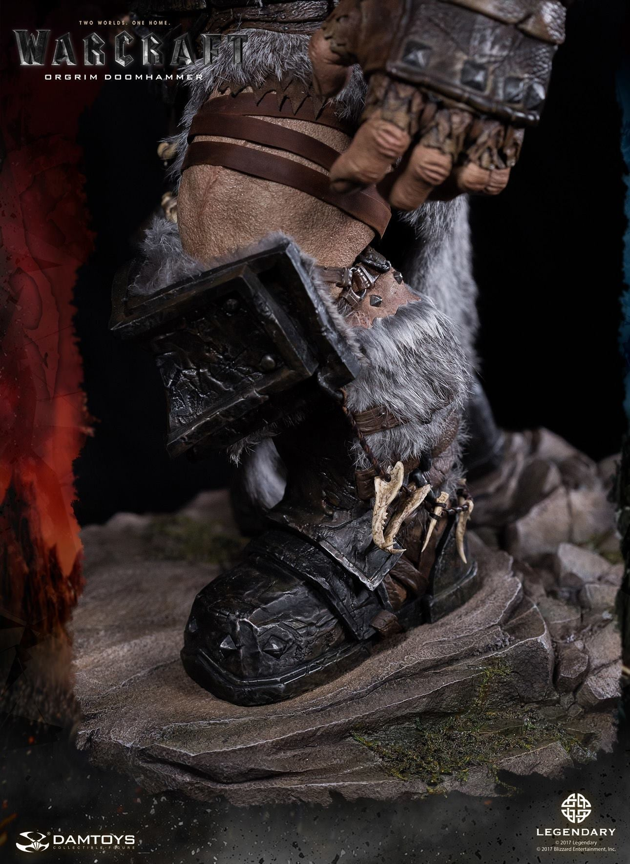 Dam Toys - DMLW02 - Epic Series - Warcraft - Orgrim Doomhammer Premium Statue - Marvelous Toys - 6