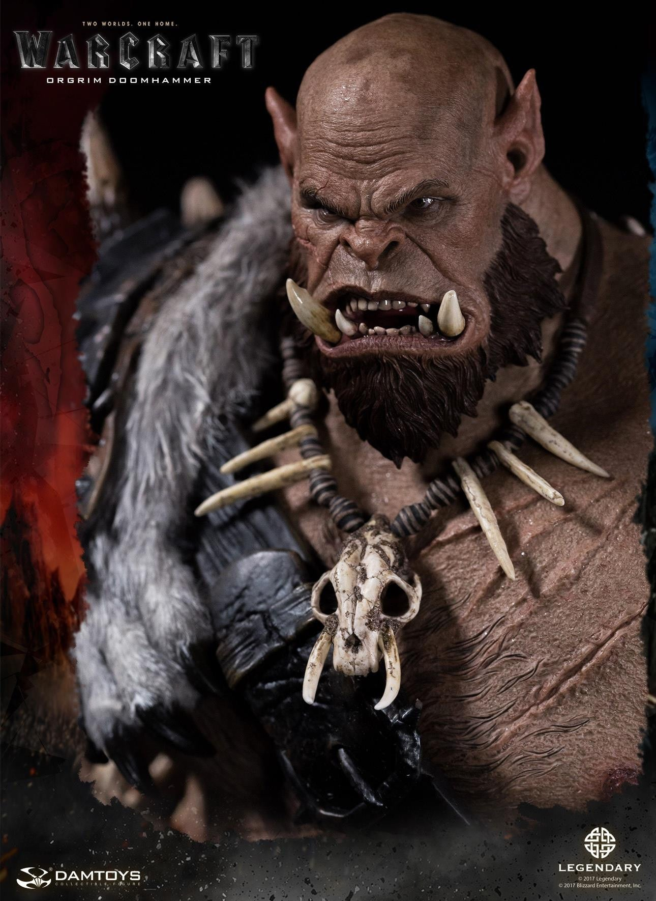 Dam Toys - DMLW02 - Epic Series - Warcraft - Orgrim Doomhammer Premium Statue - Marvelous Toys - 11
