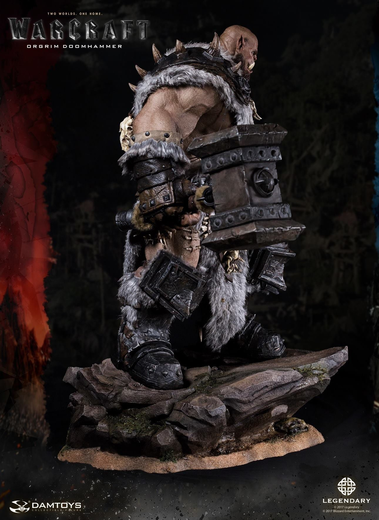 Dam Toys - DMLW02 - Epic Series - Warcraft - Orgrim Doomhammer Premium Statue - Marvelous Toys - 13