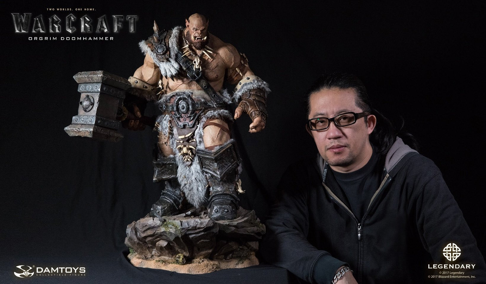 Dam Toys - DMLW02 - Epic Series - Warcraft - Orgrim Doomhammer Premium Statue - Marvelous Toys - 21