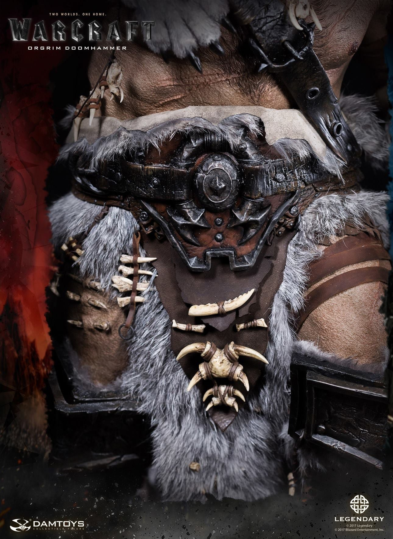 Dam Toys - DMLW02 - Epic Series - Warcraft - Orgrim Doomhammer Premium Statue - Marvelous Toys - 15