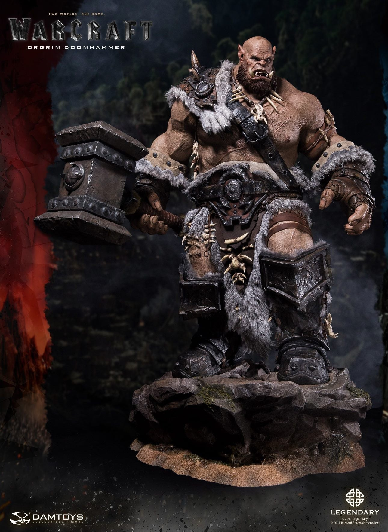 Dam Toys - DMLW02 - Epic Series - Warcraft - Orgrim Doomhammer Premium Statue - Marvelous Toys - 17