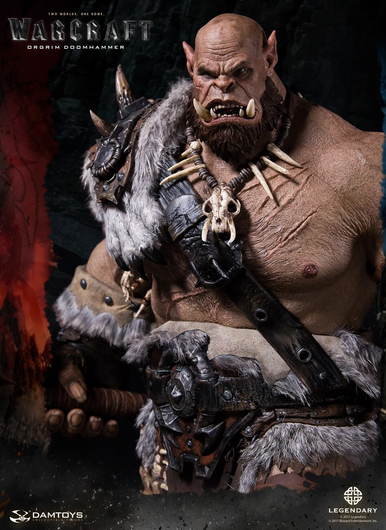 Dam Toys - DMLW02 - Epic Series - Warcraft - Orgrim Doomhammer Premium Statue - Marvelous Toys - 20