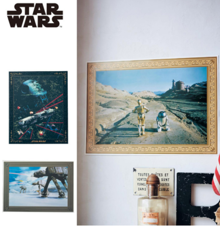 Bellemaison - Star Wars Wall Sticker - C-3PO and R2-D2 - Marvelous Toys - 2