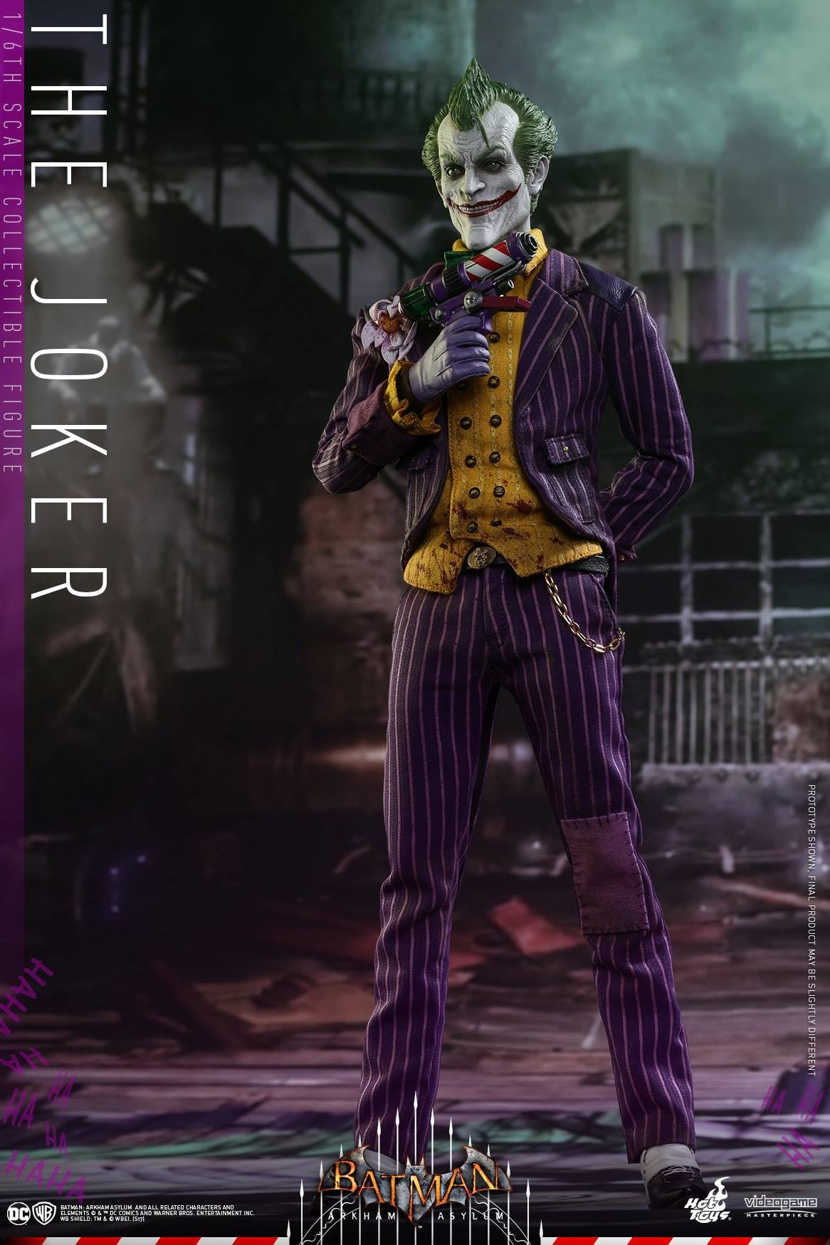 Hot Toys - VGM27 - Batman: Arkham Asylum - The Joker