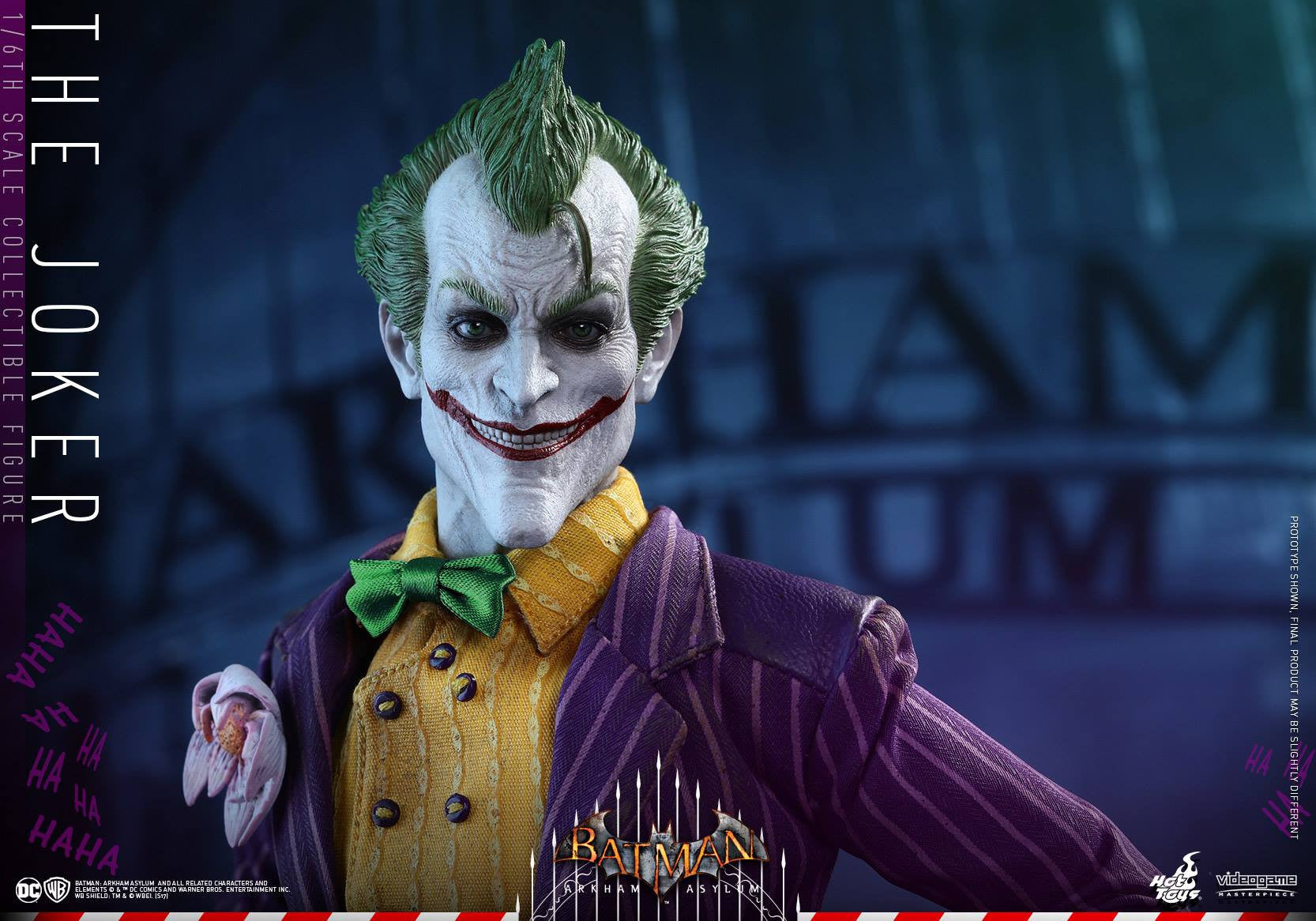 Hot Toys - VGM27 - Batman: Arkham Asylum - The Joker - Marvelous Toys - 9