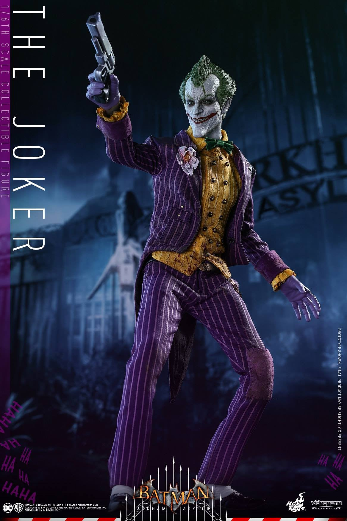 Hot Toys - VGM27 - Batman: Arkham Asylum - The Joker - Marvelous Toys - 6
