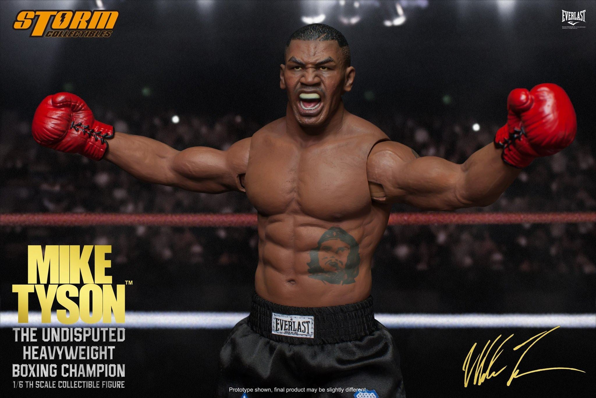 "Storm Collectibles - 1:6 Scale Collectible Figure - Mike Tyson ""The Undisputed Heavyweight Boxing Champion"" - Marvelous Toys - 3"