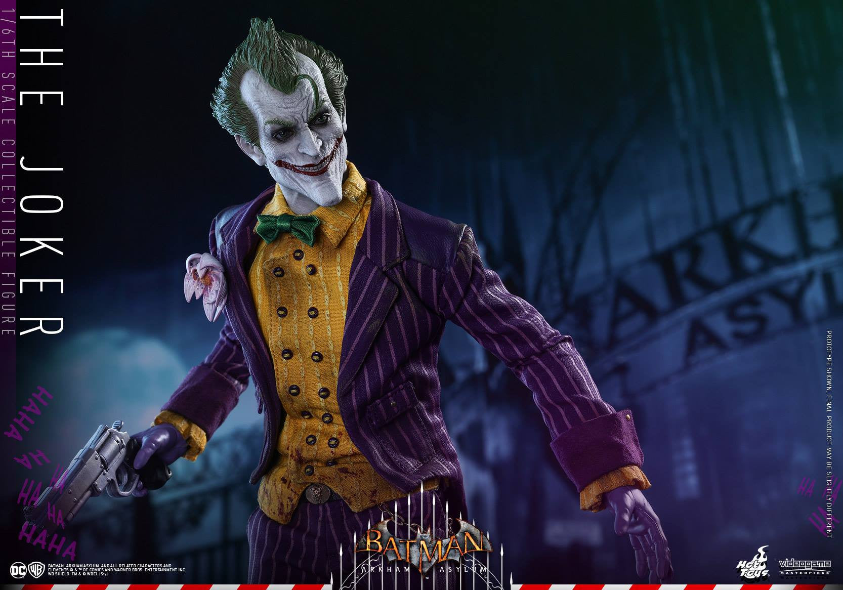 Hot Toys - VGM27 - Batman: Arkham Asylum - The Joker - Marvelous Toys - 16