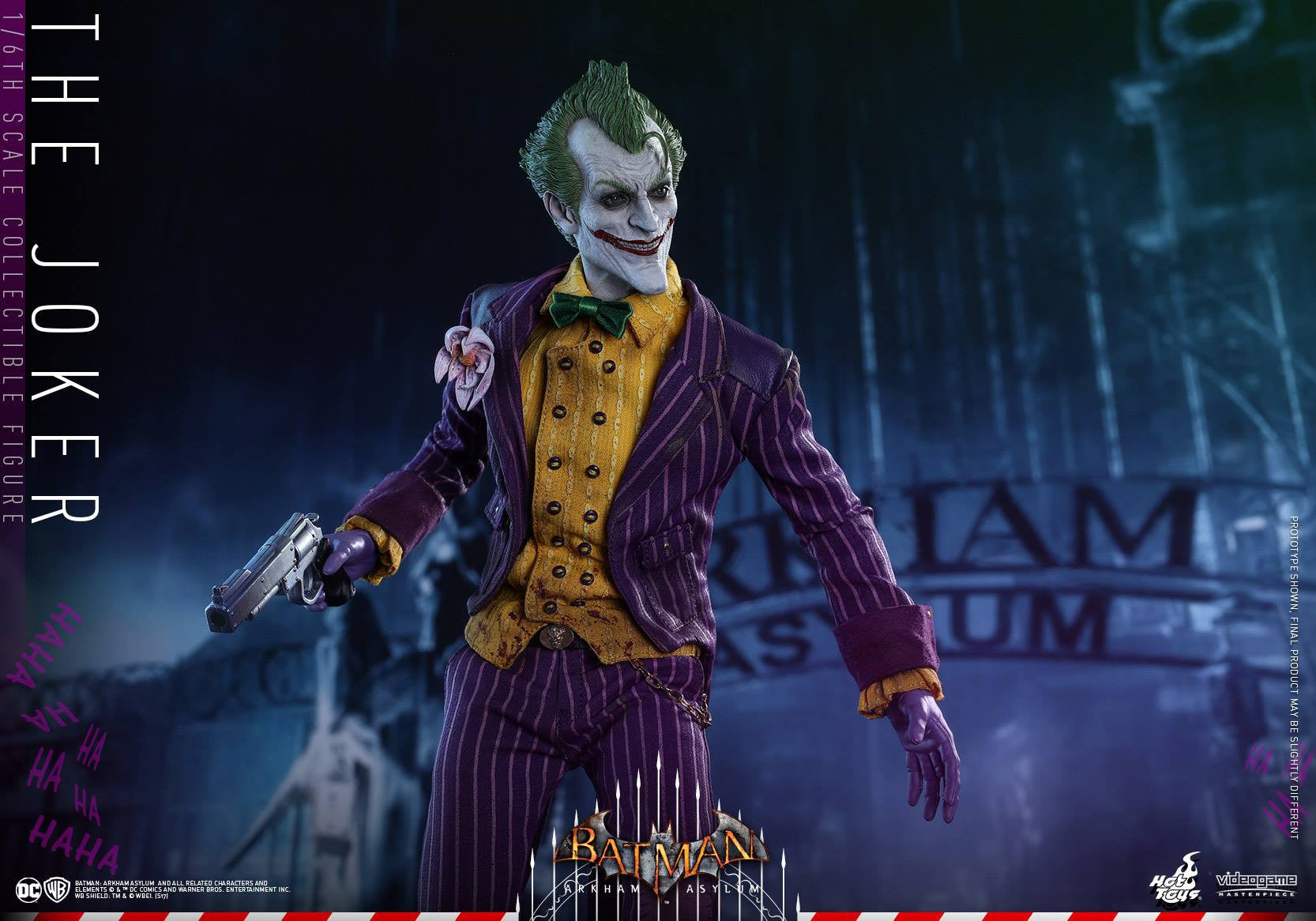 Hot Toys - VGM27 - Batman: Arkham Asylum - The Joker - Marvelous Toys - 10