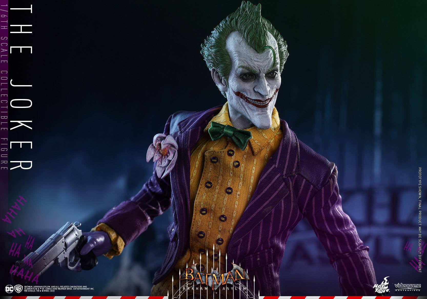 Hot Toys - VGM27 - Batman: Arkham Asylum - The Joker - Marvelous Toys - 17