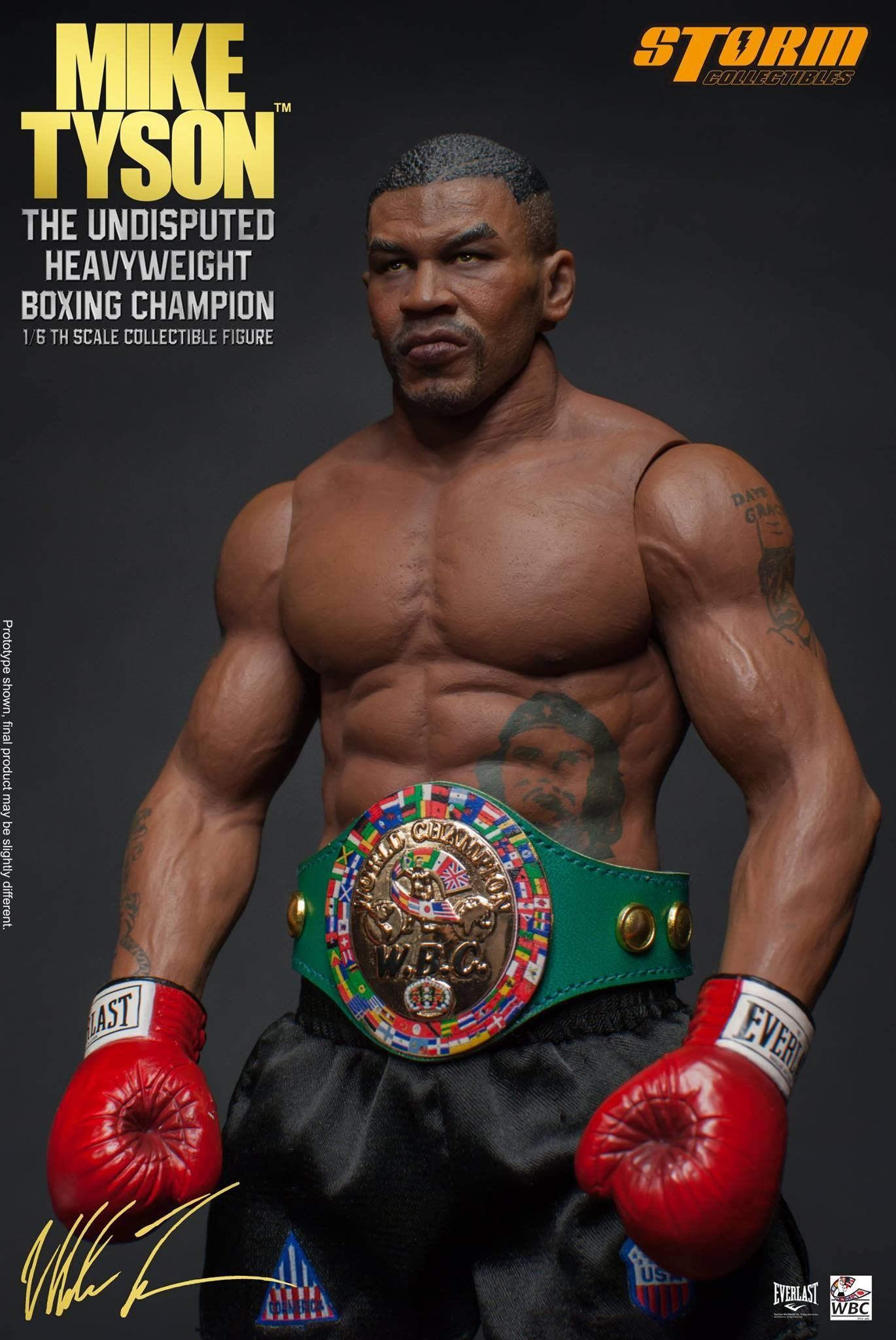"Storm Collectibles - 1:6 Scale Collectible Figure - Mike Tyson ""The Undisputed Heavyweight Boxing Champion"" - Marvelous Toys - 4"