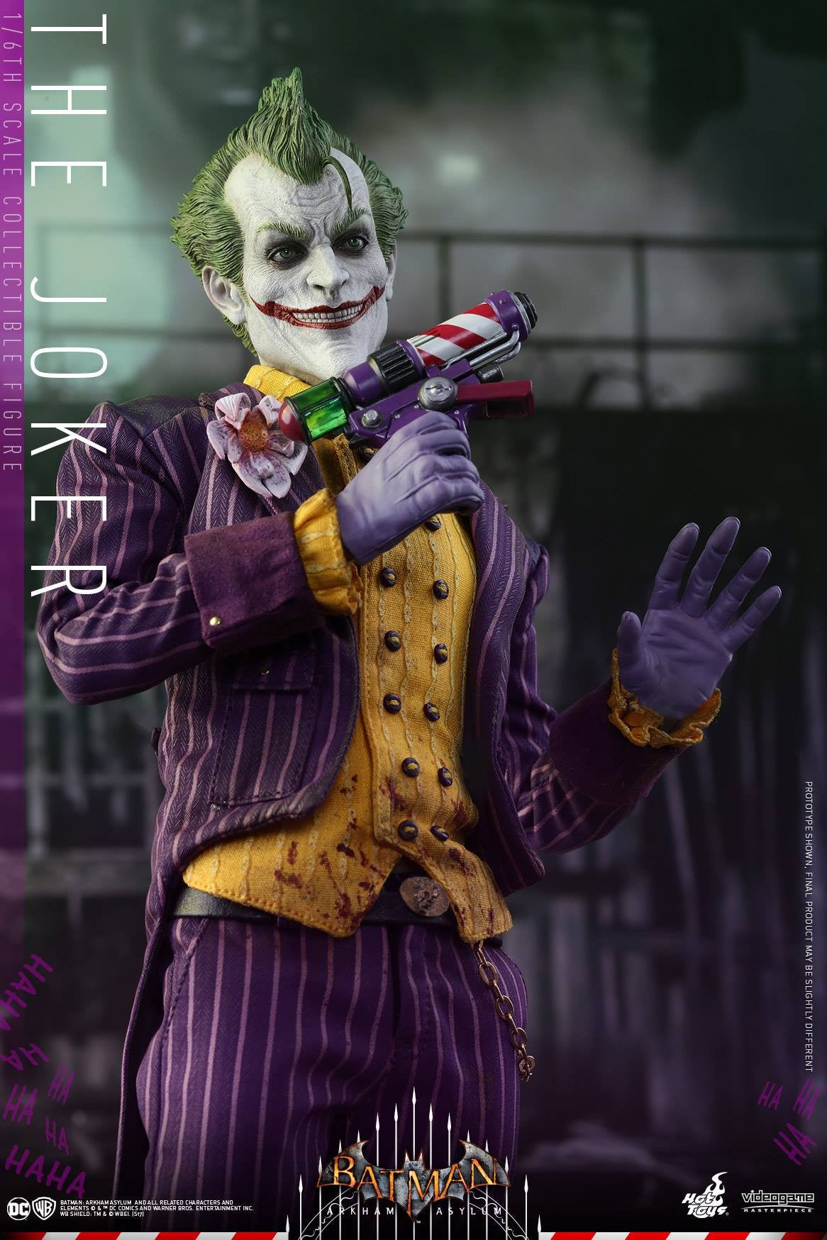 Hot Toys - VGM27 - Batman: Arkham Asylum - The Joker - Marvelous Toys - 7