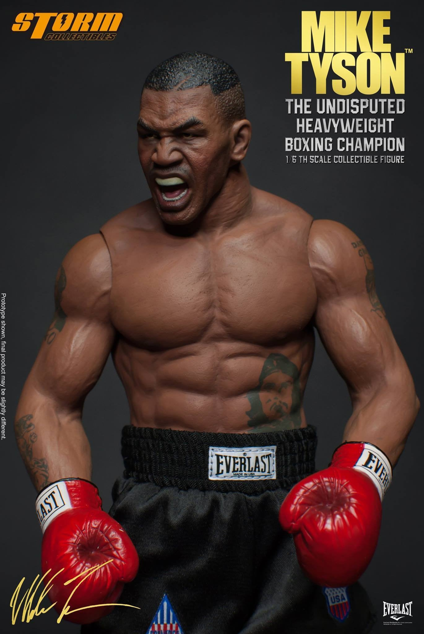 "Storm Collectibles - 1:6 Scale Collectible Figure - Mike Tyson ""The Undisputed Heavyweight Boxing Champion"" - Marvelous Toys - 8"