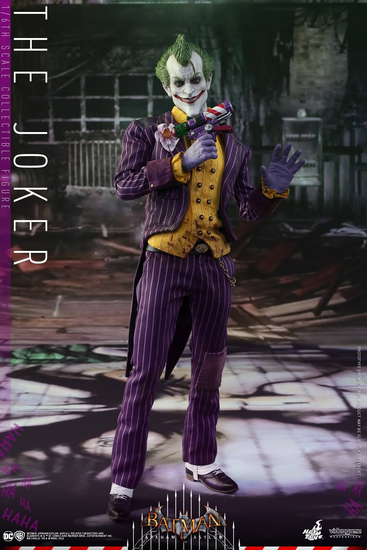 Hot Toys - VGM27 - Batman: Arkham Asylum - The Joker - Marvelous Toys - 5